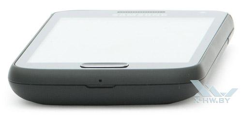 Нижний торец Samsung Galaxy W