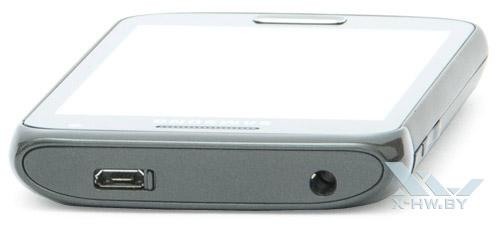 Верхний торец Samsung Galaxy W