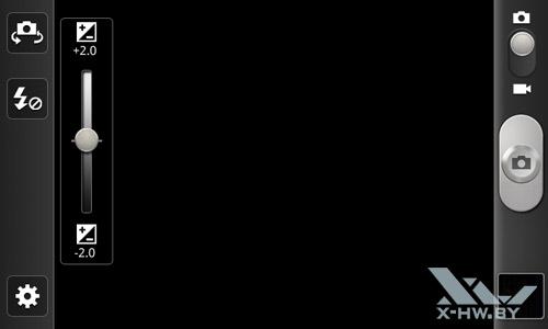 Интерфейс камеры Samsung Galaxy W. Рис. 4