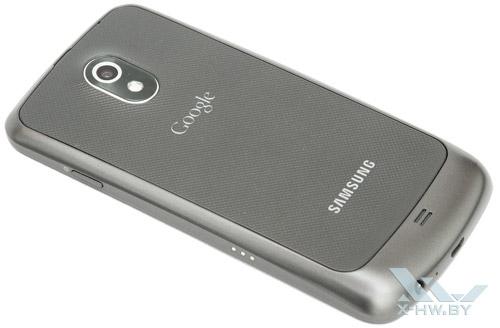Samsung Galaxy Nexus. Вид сзади