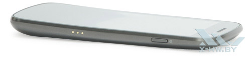 Правый торец Samsung Galaxy Nexus