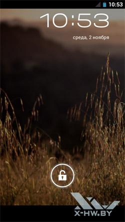 Экран блокировки Samsung Galaxy Nexus