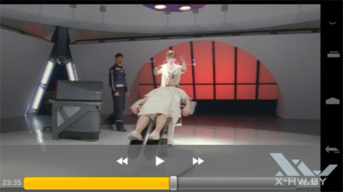Видеоплеер Samsung Galaxy Nexus. Рис. 1