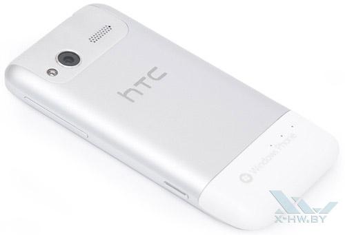 HTC Radar. Вид сзади