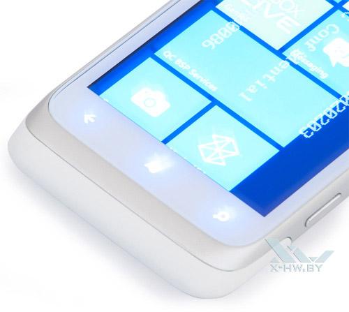 Подсветка кнопок HTC Radar