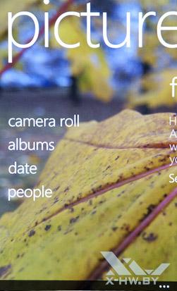Галерея на HTC Radar