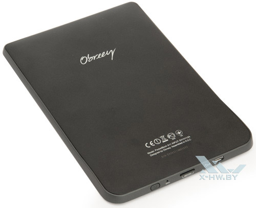 PocketBook Basic 611. Вид сзади