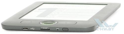 Нижний торец PocketBook Basic 611