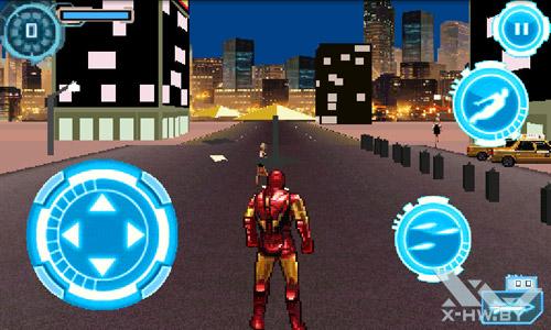 Игра Iron man 2 на Huawei U8800 IDEOS X5