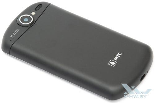 Huawei U8800 IDEOS X5. Вид сзади