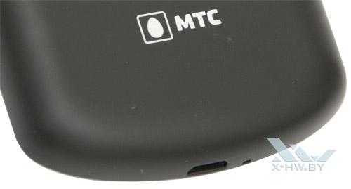 Логотип МТС на задней крышке Huawei U8800 IDEOS X5
