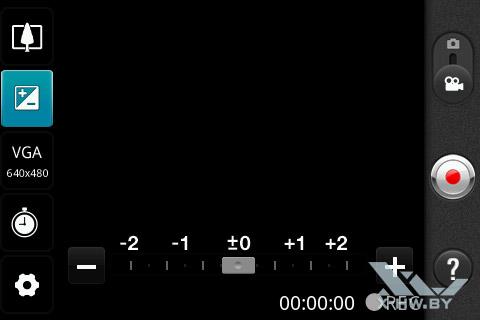 Настройки съемки видео на LG Optimus Net Dual P698. Рис. 2