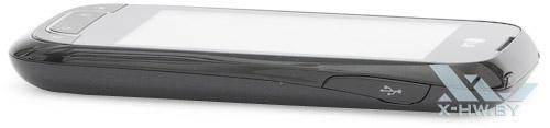 Правый торец LG Optimus Net Dual P698