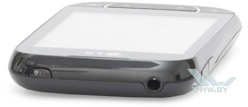 Верхний торец LG Optimus Net Dual P698
