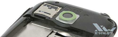 Карта памяти microSD в LG Optimus Net Dual P698