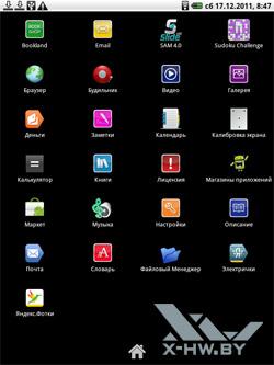 Приложения PocketBook IQ 701