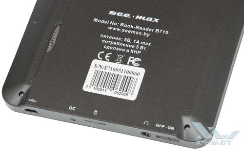 Техническая информация о Seemax B710