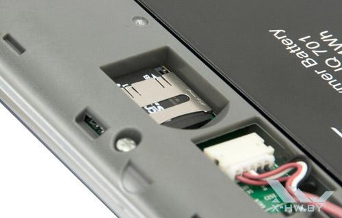 Карта памяти microSD в PocketBook IQ 701. Рис. 2