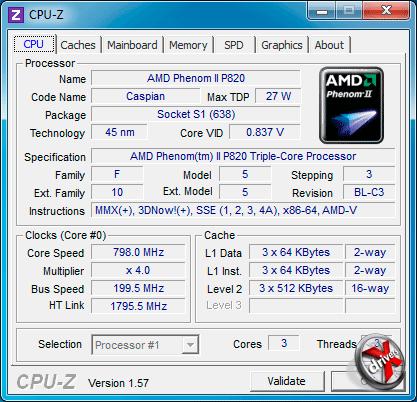 Процессор HP ProBook 4525s