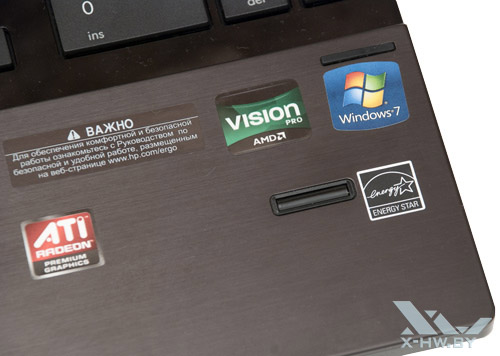 Дактилоскопический сенсор HP ProBook 4525s