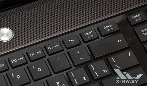 Кнопка включения беспроводных контроллеров HP ProBook 4525s