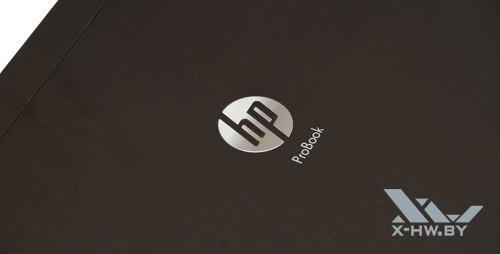 Логотип HP на внешней крышке экрана HP ProBook 4525s
