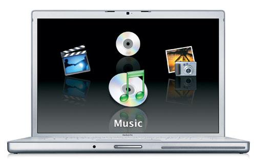 Apple MacBook Pro 15.4 первого поколения