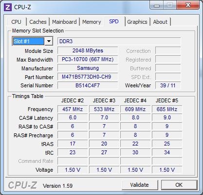 Модули памяти Samsung 700Z5A