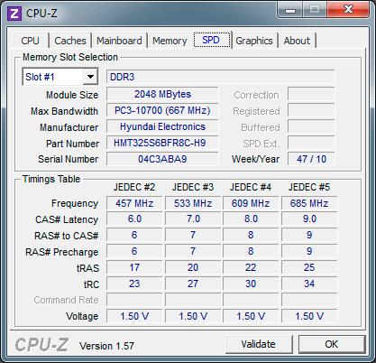 Модули памяти ASUS N52D