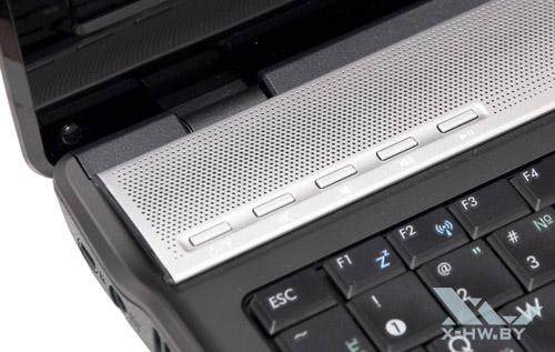 Дополнительные кнопки ASUS N52D