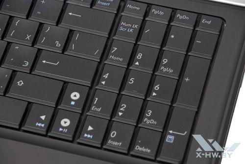 Цифровая клавиатура ASUS N52D