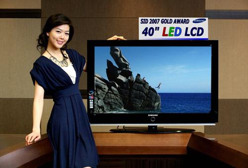 ЖК-телевизор Samsung с LED-подсветкой