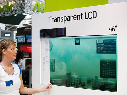 Прозрачный ЖК-экран Samsung