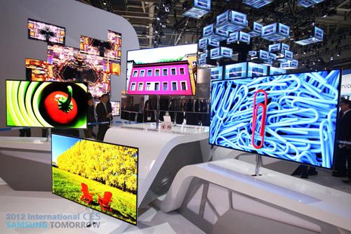 55-дюймовые OLED-телевизоры Samsung на CES 2012