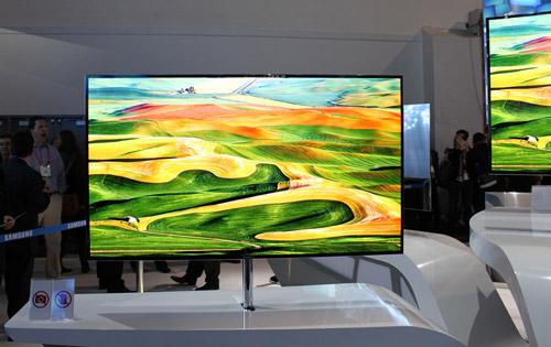 55-дюймовый OLED-телевизор Samsung на CES 2012