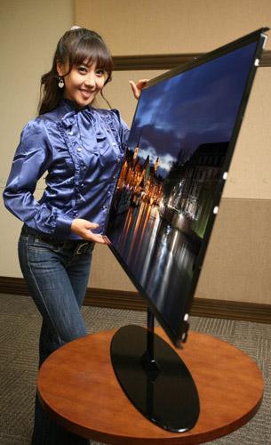 Современный ЖК-телевизор Samsung с LED-подсветкой