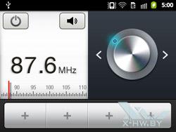 FM-радио на Samsung Galaxy Y Pro. Рис. 1