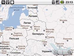 Навигация на Huawei U8350. Рис. 2