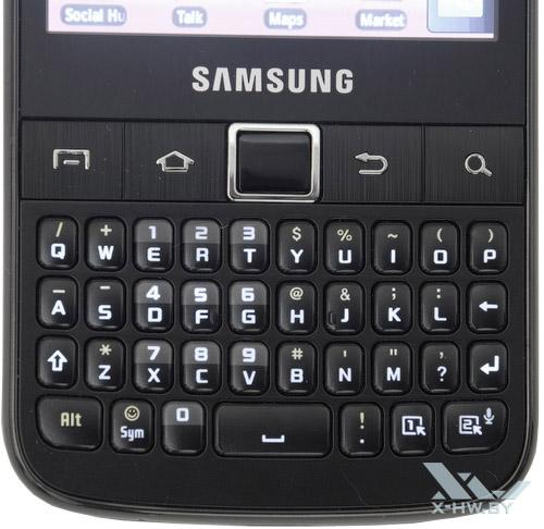 Подсветка клавиатуры Samsung Galaxy Y Pro