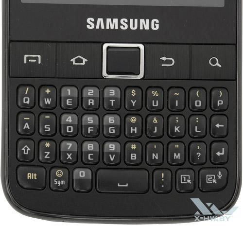 Клавиатура Samsung Galaxy Y Pro