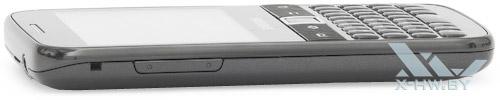 Левый торец Samsung Galaxy Y Pro