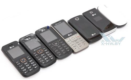 LG A100, A130, A155, A175, A190, A230, A258. Рис. 1