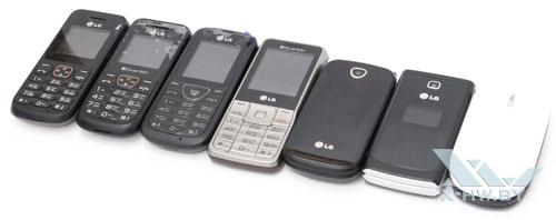 LG A100, A130, A155, A175, A190, A230, A258. Рис. 2