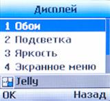 Настройки дисплея LG A175
