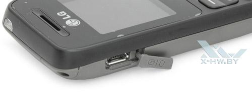 Разъем microUSB на LG A100