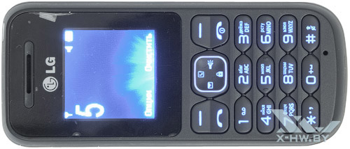 Подсветка кнопок LG A100