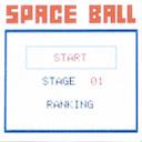 Меню игры Space Ball на LG A100