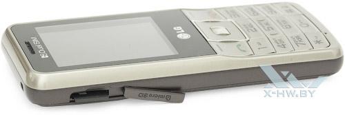 Разъем для microSD-карты на LG A155