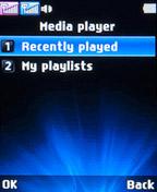 Медиа-плеер на LG A155