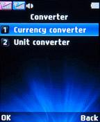 Конвертор валют на LG A155